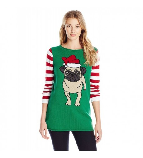 Ugly Christmas Sweater Pullover Emerald