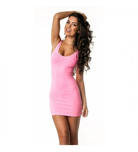 Coqueta Strechable Spandex Fitted PINK LARGE