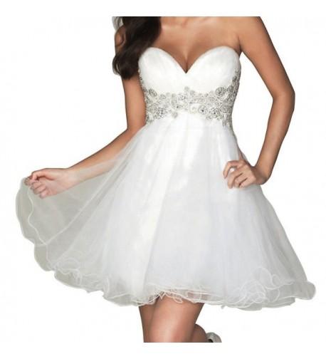DianSheng Homecoming Sweetheart Wedding Dresses