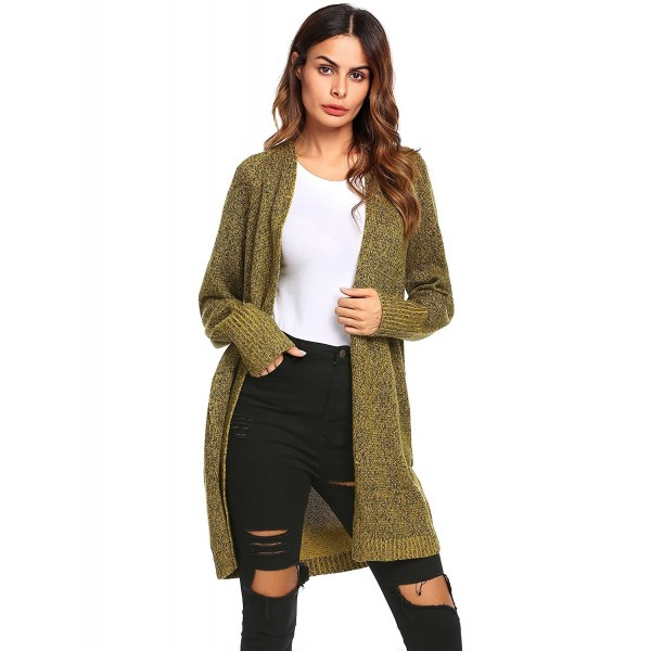 Unibelle Womens Knitted Trench Cardigan