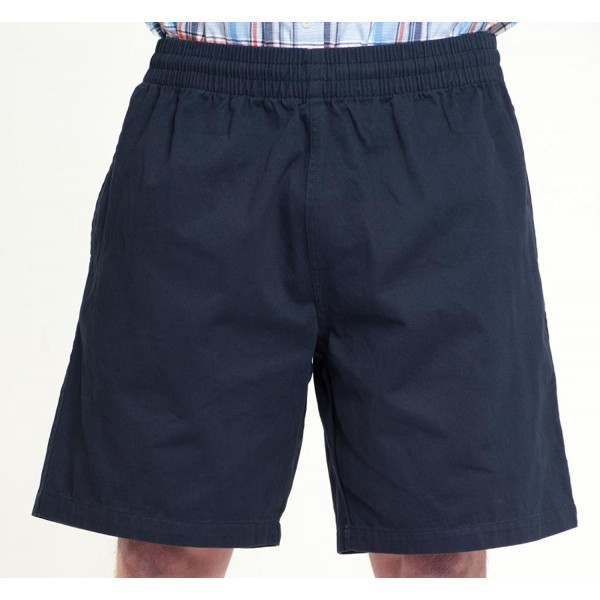 Navy elastic casual short M 10X