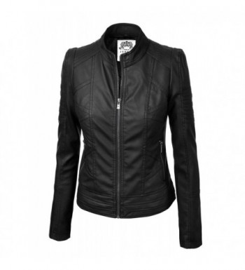 Cheap Women's Leather Jackets Outlet