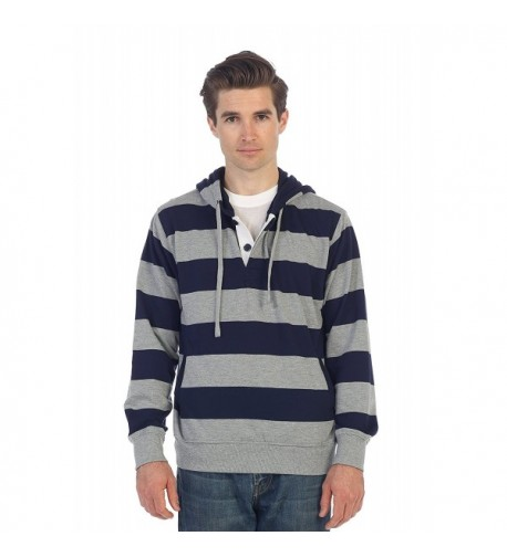 Gioberti French Pullover Striped Sweater