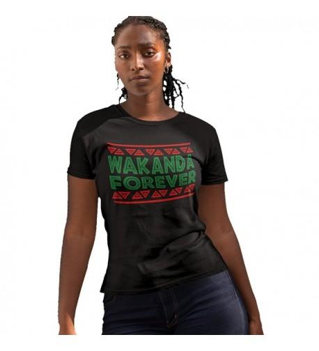 Wakanda Forever Women Black Medium