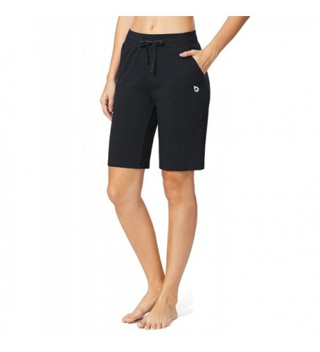Baleaf Womens Active Bermuda Pockets