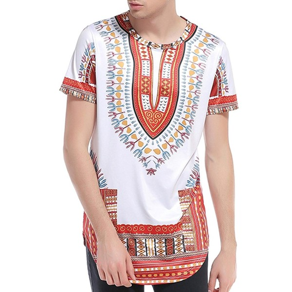 Miskely Dashiki African Traditional Printed