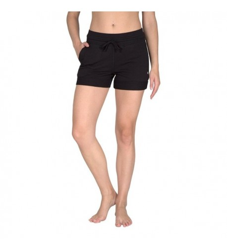Yogalicious Activewear Lounge Shorts Black