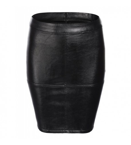 Zeagoo Womens Waist Leather Casual